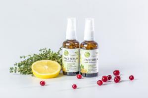 Сыворотка для лица с АНА-кислотами для сухой и чувствительной кожи