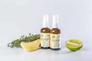 Пилинг для лица с АНА-кислотами для сухой и чувствительной кожи