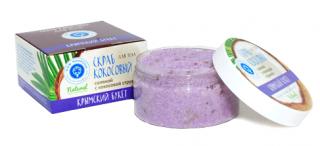 Кокосовый соляной скраб «КРЫМСКИЙ БУКЕТ»
