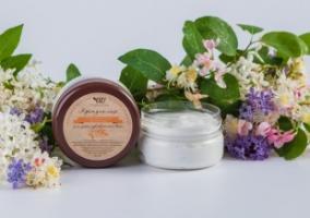 Крем для лица с гиалуроновой кислотой и маслом арганы для сухой и чувствительной кожи